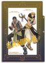 【グッズ-クリアファイル】黒子のバスケ RPG 3ポケットクリアファイル 黄瀬・青峰【アニメイト限定】の画像