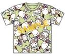 【グッズ-Tシャツ】ポチャッコ♡かやたんのらぶらぶバースデーPARTY フルグラフィックTシャツの画像