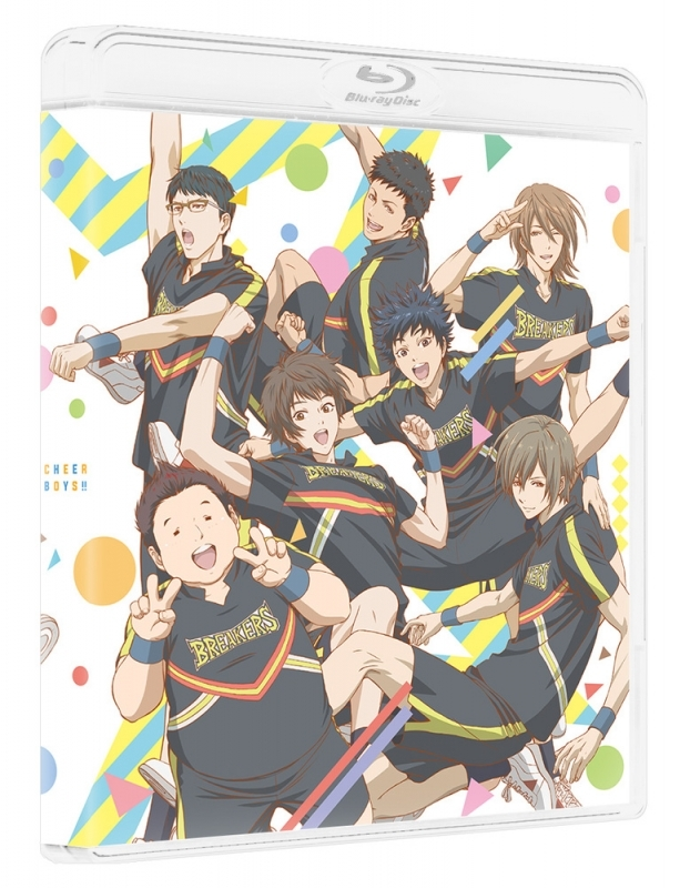 【Blu-ray】TV チア男子!! Blu-ray BOX