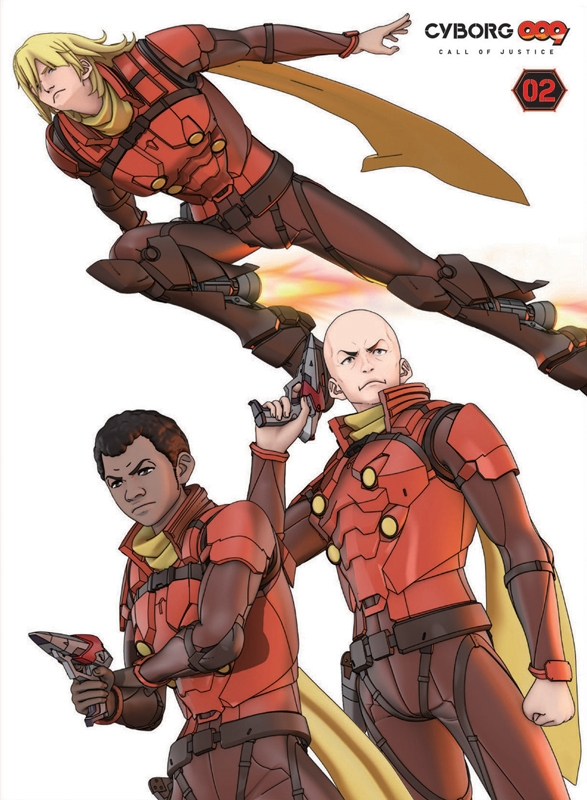 【Blu-ray】劇場版 CYBORG009 CALL OF JUSTICE 第2章