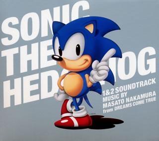 【サウンドトラック】ゲーム ソニック・ザ・ヘッジホッグ1&2 サウンドトラック