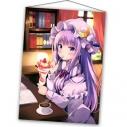 【グッズ-タペストリー】東方project ひゅらさん先生 パチュリー【Animejapan 2021】の画像