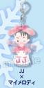 【グッズ-キーホルダー】ユーリ!!! on ICE×Sanrio アクリルキーホルダー JJ×マイメロディの画像