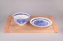 【グッズ-皿】ゾンビランドサガ ゾンビ飯碗小皿セット -3号・愛-の画像