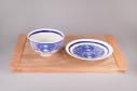 【グッズ-皿】ゾンビランドサガ ゾンビ飯碗小皿セット -6号・リリィ-の画像