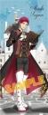 【グッズ-タオル】黒子のバスケ RPG スポーツタオル  赤司征十郎【アニメイト限定】の画像