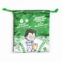 【グッズ-巾着】ダイヤのA actⅡ×北海道日本ハムファイターズ 巾着袋 倉持の画像