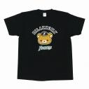【グッズ-Tシャツ】リラックマ×北海道日本ハムファイターズ Tシャツ 黒 Mの画像