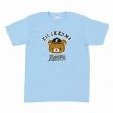 【グッズ-Tシャツ】リラックマ×北海道日本ハムファイターズ Tシャツ 水色 Sの画像
