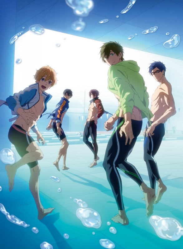 【Blu-ray】劇場版 Free! -Road to the World 夢-