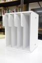 【収納BOX】【アニメイトオンライン限定販売】B5同人誌収納BOX(連結機構付) ・ホワイトの画像