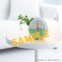 【グッズ-時計】おそ松さん チョロ松 モデル テーブルクロックの画像