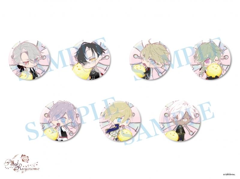 【グッズ-バッチ】Petal Royaume らくがき缶バッジ さくらver.(全7種)【AnimeJapan2020】