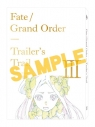 【グッズ-設定資料集】Fate/Grand Order Trailer's Trail Ⅲ created by A-1 Pictures BD付限定版の画像