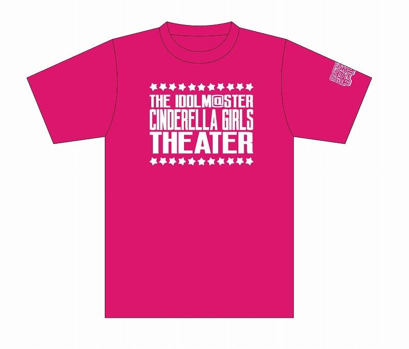 【グッズ-Tシャツ】アイドルマスター シンデレラガールズ劇場 Tシャツ ピンク(Cute) Lサイズ【AnimeJapan2020】