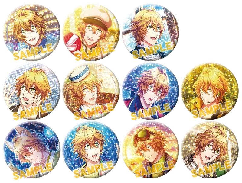 うたの☆プリンスさまっ♪ Shining Live トレーディングスターホログラム缶バッジ 四ノ宮那月コレクション_0