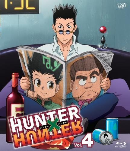 【Blu-ray】TV HUNTER×HUNTER Vol.4