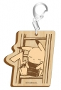 【グッズ-キーホルダー】ポケットモンスター セピアグラフィティ木製キーホルダー ライブラリーの画像