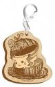 【グッズ-キーホルダー】ポケットモンスター セピアグラフィティ木製キーホルダー インザリバーの画像