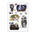 【グッズ-クリアファイル】PSYCHO-PASS サイコパス クリアファイル 01/場面写 キャラクターデザイン(グラフアート)の画像