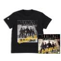 【グッズ-Tシャツ】JAM Project CDジャケット プレスTシャツ(L)の画像