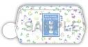 【グッズ-ポーチ】劇場版 夏目友人帳 ~うつせみに結ぶ~青色のお花柄 ポーチの画像