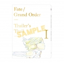 【グッズ-複製原画集】Fate/Grand Order Trailer's Trail created by A-1 Picturesの画像