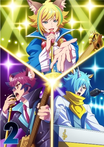 【Blu-ray】TV SHOW BY ROCK!!STARS!! 第2巻