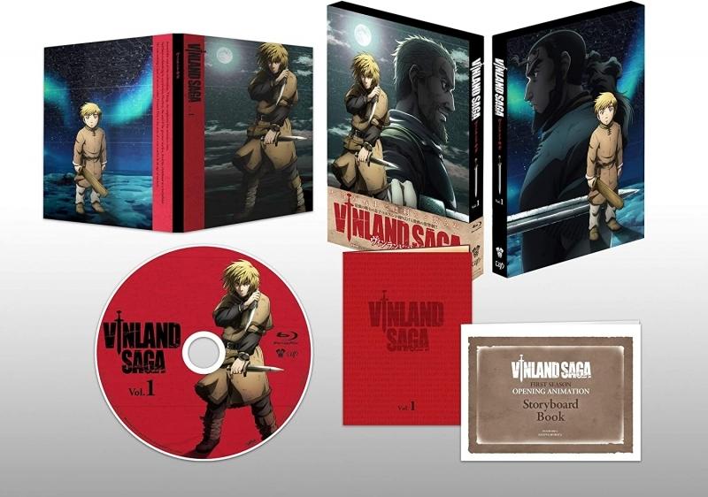【Blu-ray】TV ヴィンランド・サガ Blu-ray Box Vol.1