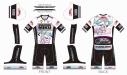 【サイクルウェア】VOCALOID サイクルセパレートワンピース レーシングミク 2021Ver. XXLサイズ【アウローラ】の画像
