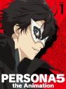 【DVD】TV ペルソナ5 1 完全生産限定版の画像