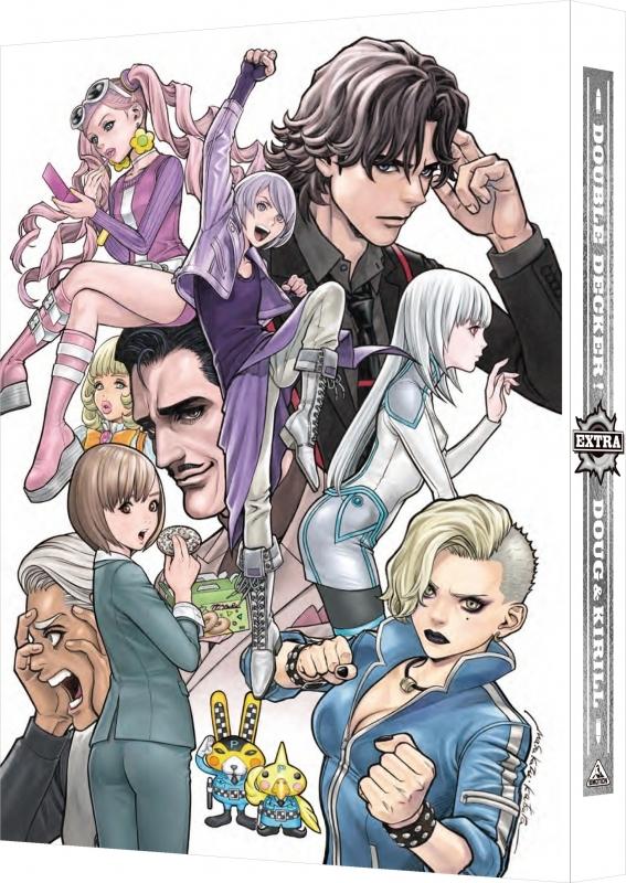 【Blu-ray】OVA DOUBLE DECKER! ダグ&キリル EXTRA 特装限定版
