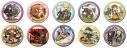 【グッズ-バッチ】特価 テイルズ オブ ヴェスペリア キャラクタークロニクル トレーディング缶バッジ【再販】の画像