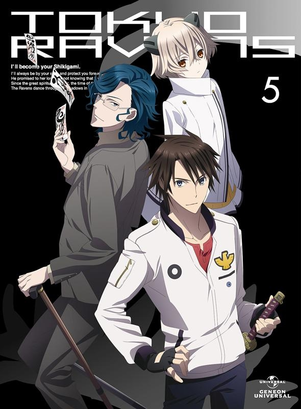 【Blu-ray】TV 東京レイヴンズ 第5巻 初回限定版