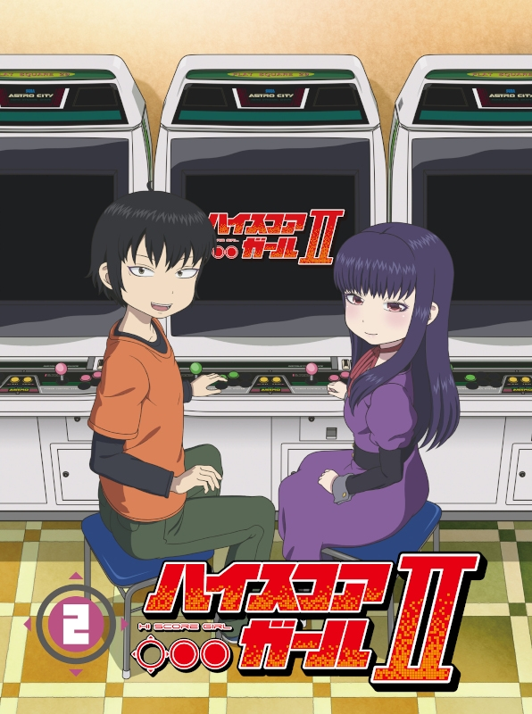 【Blu-ray】TV ハイスコアガールII STAGE2 初回仕様版