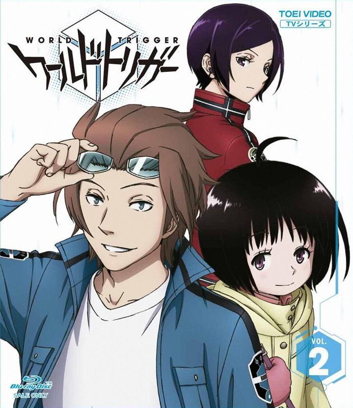 【Blu-ray】TV ワールドトリガー VOL.2