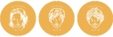 【グッズ-バッチ】カナタ10周年記念公演 あぶな絵、あぶり声~祭~ 缶バッジ 鮎川太陽・畠山遼 ・仲村宗悟の画像