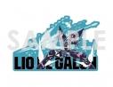 【グッズ-ステッカー】プロメア ダイカットステッカー 4.リオデガロンの画像