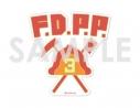 【グッズ-ステッカー】プロメア ダイカットステッカー 12.消防隊服ロゴの画像