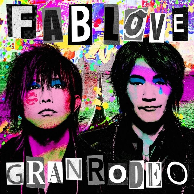 【アルバム】GRANRODEO/FAB LOVE 初回限定盤