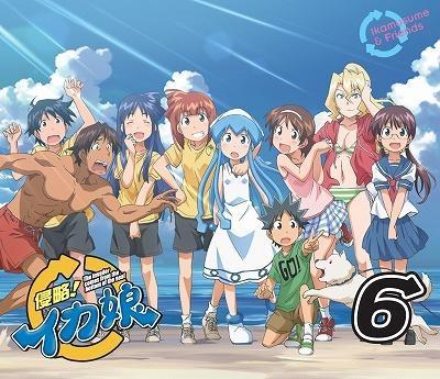 【Blu-ray】TV 侵略!イカ娘 6