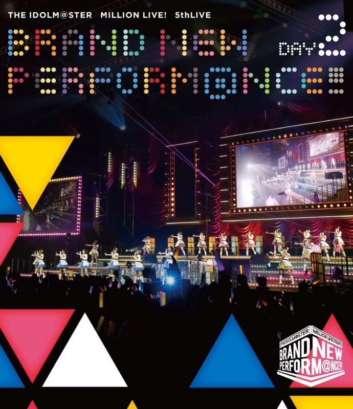 【Blu-ray】THE IDOLM@STER MILLION LIVE! 5thLIVE BRAND NEW PERFORM@NCE!!! LIVE Blu-ray DAY2