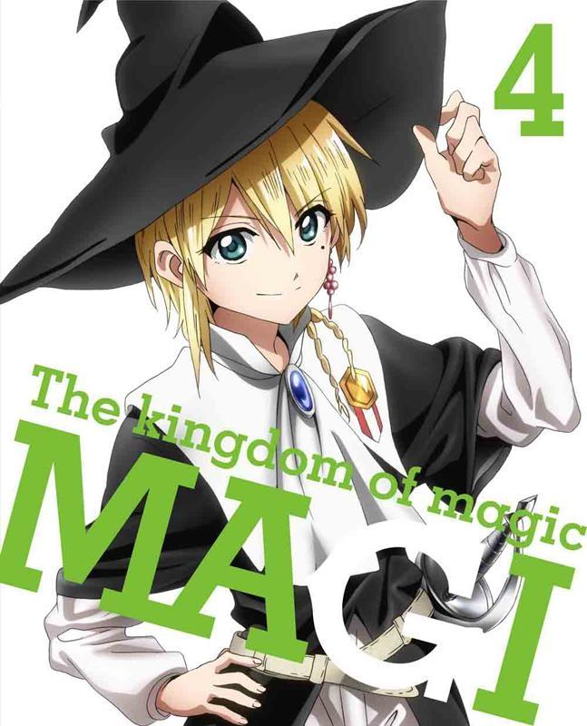 【Blu-ray】TV マギ The kingdom of magic 4 完全生産限定版