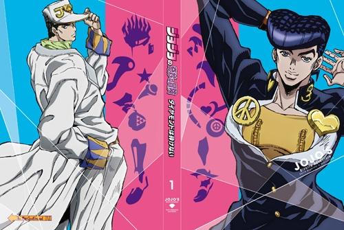 【Blu-ray】TV ジョジョの奇妙な冒険 ダイヤモンドは砕けない Vol.1 初回仕様版