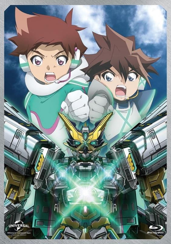 【Blu-ray】劇場版 新幹線変形ロボ シンカリオン 未来からきた神速のALFA―X 初回限定生産版