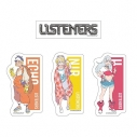 【グッズ-ステッカー】LISTENERS ステッカーセットの画像