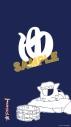 【グッズ-のれん】夏目友人帳 ニャンコ先生「ゆ」マルチタペストリーのれんの画像