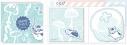 【グッズ-メモ帳】夏目友人帳 ニャンコ先生付箋セット/Cの画像
