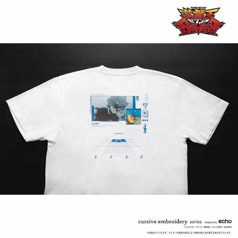 【グッズ-Tシャツ】遊☆戯☆王SEVENS Tシャツ ルーク Mサイズ【CHORD】