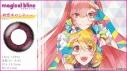 【グッズ-コスプレアクセサリー】初音ミク マジカル ブリンク ワンデー 初恋キャンディ カラーコンタクト 度なしの画像